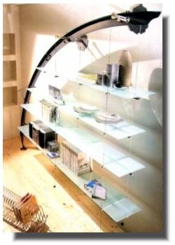 Librerie modulari scale arredo scale per interni librerie in acciaio - Scale d arredo per interni ...