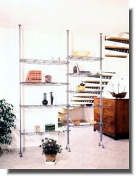 Librerie Moderne In Acciaio.Complementi D Arredo Modulari Librerie Moderne Librerie In Legno