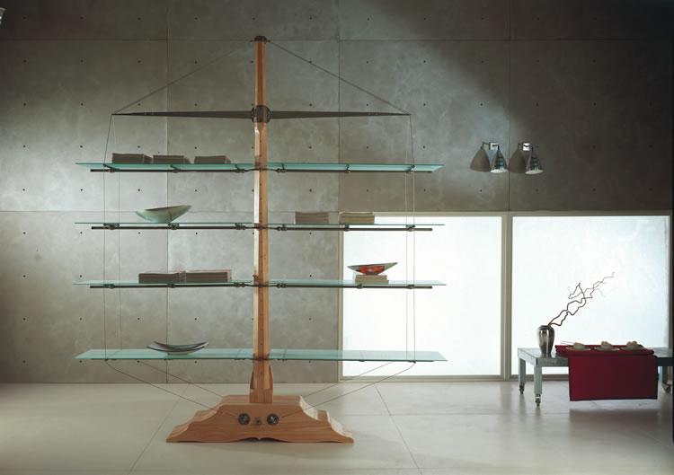 Gallery of oltre a soppalchi su misura e scale in metallo for Libreria acciaio e vetro
