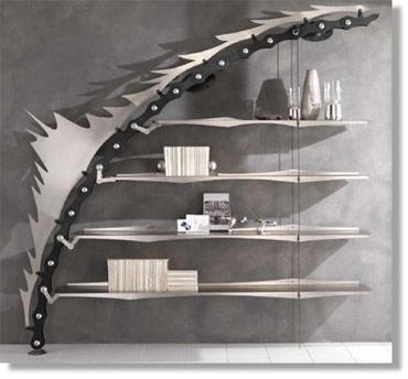 Scale in metallo librerie artigianali arredamenti modulari complementi d 39 arredo - Complementi d arredo di design ...